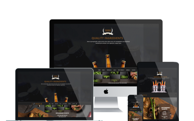 Joomla Template: LT BeePub – Premium Private Bar / Bistro Joomla template