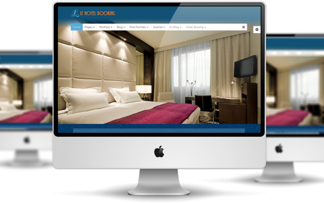 Wordpress Theme: LT Hotel Onepage – Free Single Page Responsive Resort / Hotel WordPress theme