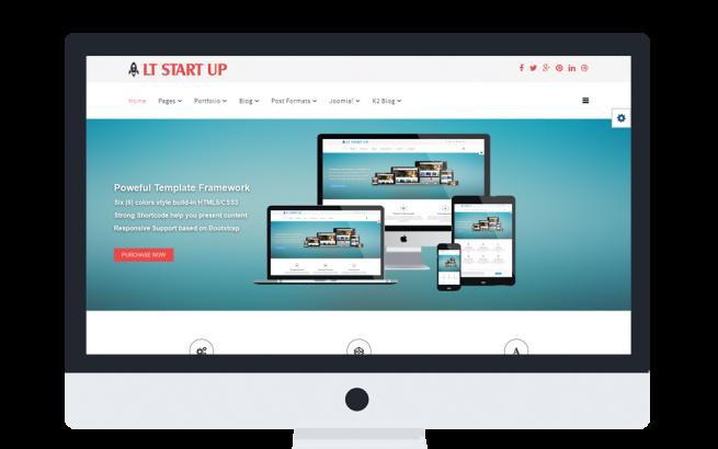 Joomla Template: LT Start Up Onepage – Single New Business Launch Onepage Joomla template