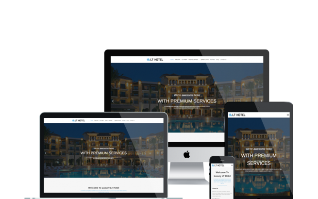 Wordpress Theme: LT Hotel – Free Responsive Resort / Hotel WordPress Theme