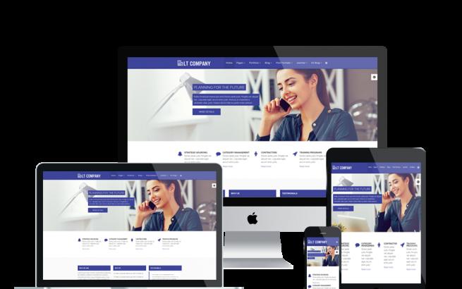 Joomla Template: LT Company – Business / Joomla template
