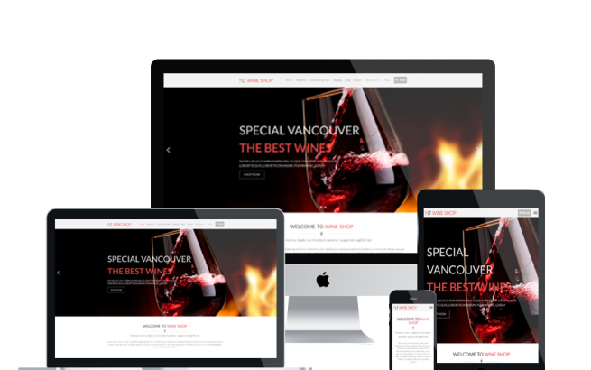 Wordpress Theme: LT Wine Shop –Free Responsive Wine Store / Wine Shop WordPress Theme