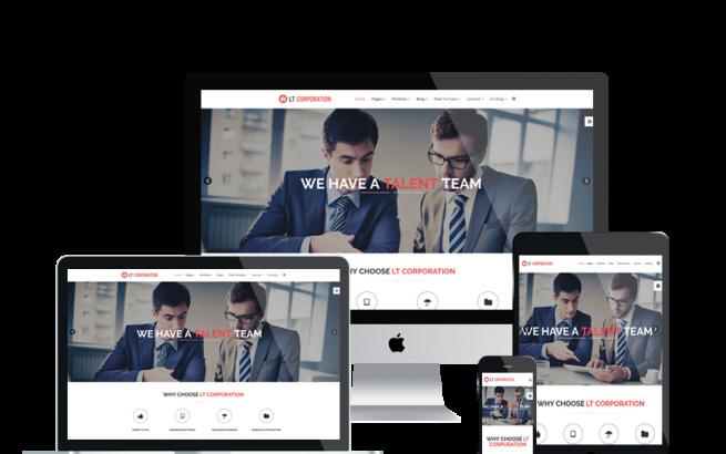 Joomla Template: LT Corporation – Premium Business / Corporation Joomla template