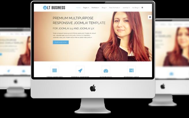 Wordpress Theme: LT Business – Free Responsive Corporation / Business WordPress Theme