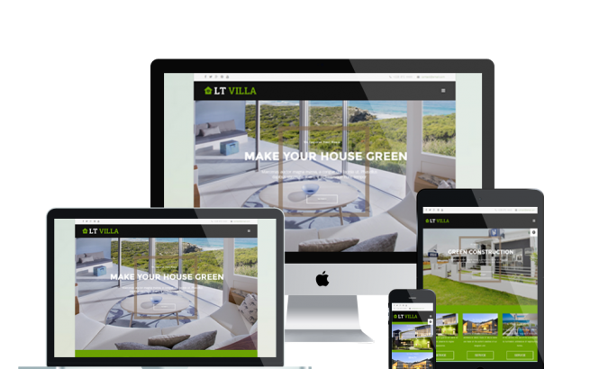 Wordpress Theme: LT Villa – Free Responsive Modern Villa WordPress theme