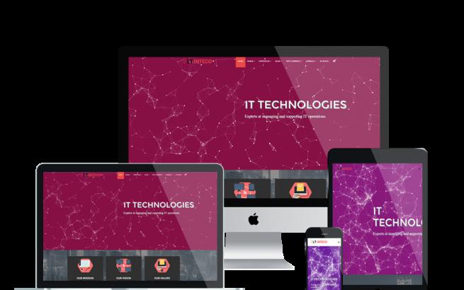 Joomla Template: LT Inteco – Premium IT Company Joomla! template