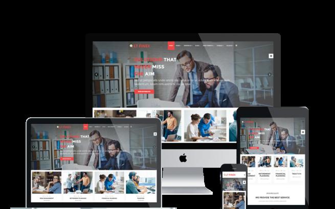 Joomla Template: LT Finex – Premium Private Investment Company / Financial Joomla template