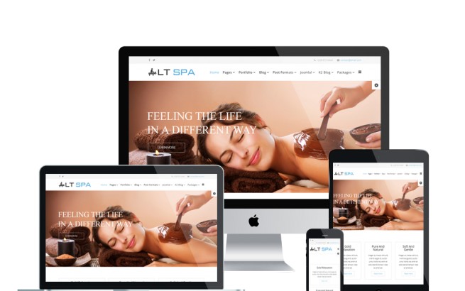 Wordpress Theme: LT Spa – Free Responsive Sauna / Beauty WordPress Theme