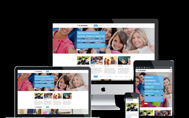 Wordpress Theme: LT School Onepage – Free Single Page Responsive College / University WordPress theme