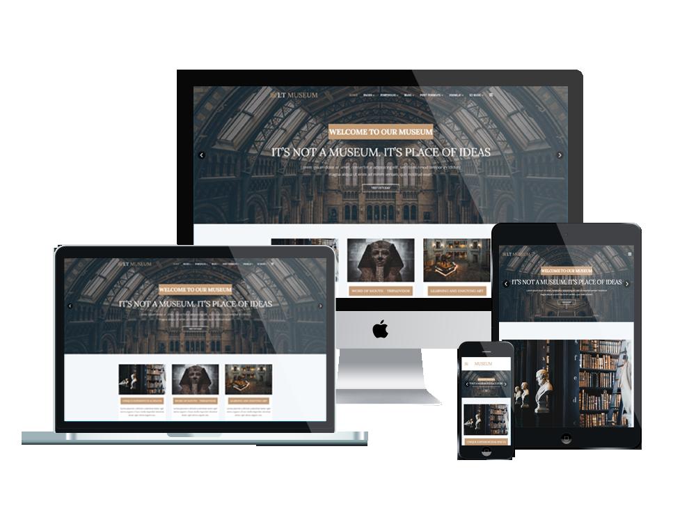 Joomla Template: LT Museum - Premium Private Museum Joomla Template