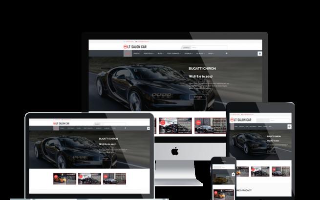 Joomla Template: LT Salon Car – Premium Salon Car Joomla template