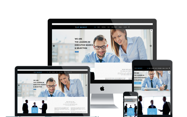 Joomla Template: LT Recruit Onepage – Single Job Board / Human Resources Onepage Joomla template