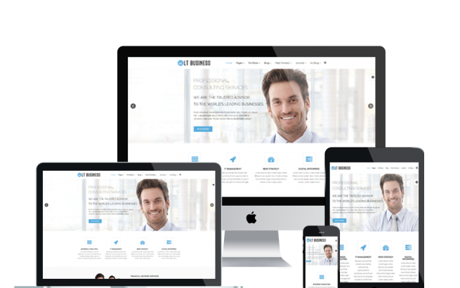 Joomla Template: LT Business – Responsive Business /Joomla Template