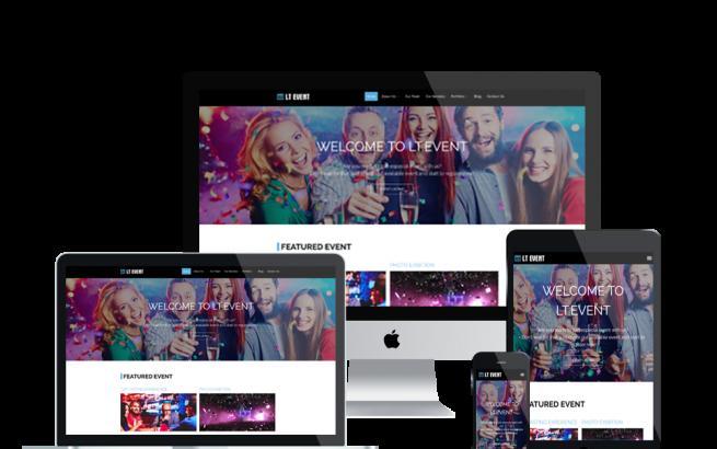 Wordpress Theme: LT Event – Responsive Onahah Event WordPress theme