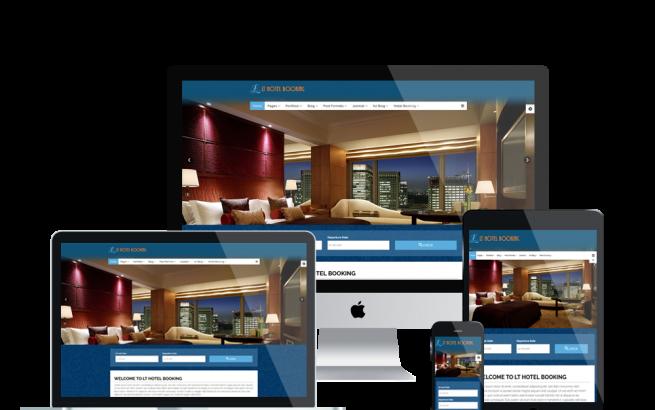 Wordpress Theme: LT Hotel Booking – Responsive Hotel Booking WordPress theme