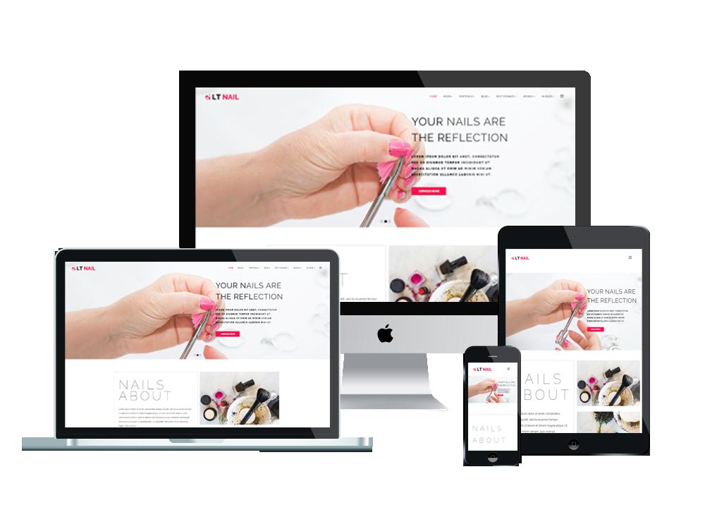 Joomla Template: LT Nail - Premium Private Joomla Salon Template