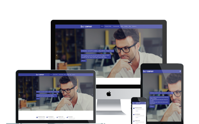 Wordpress Theme: LT Company – Free Responsive Business / Company WordPress Theme