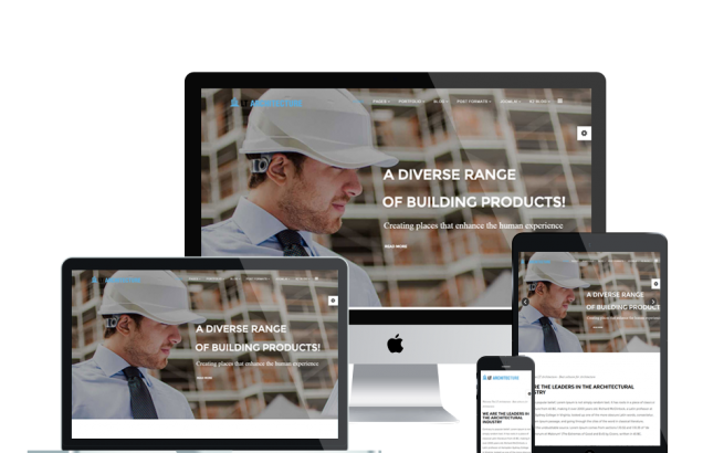 Joomla Template: LT Architecture Onepage – Free Single Page Modern / Architecture Joomla template