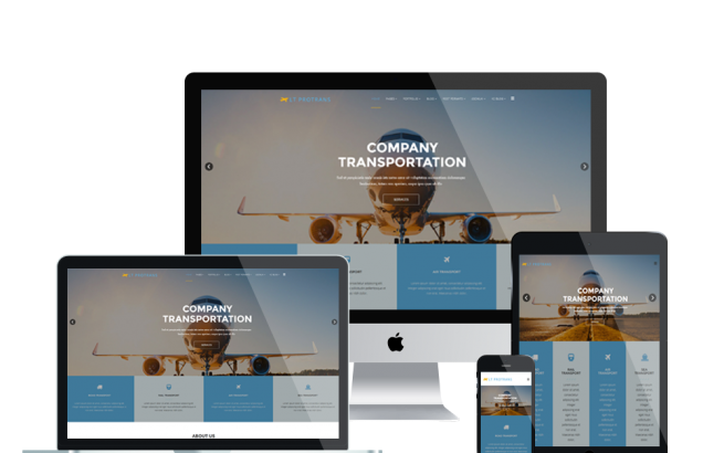 Wordpress Theme: LT ProTrans – Free Responsive Automotive / Transport WordPress theme