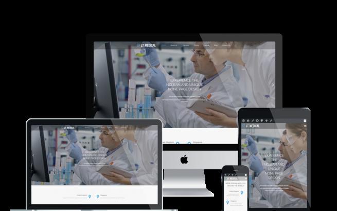 Wordpress Theme: LT Medical – Free Responsive Clinic / Hospital WordPress Theme