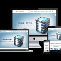 Ltheme Joomla Template: LT Storage – Free Server / Hosting Joomla template