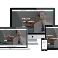 Wordpress template LT Resume Onepage – Free Single Page Responsive Personal CV / Resume WordPress theme