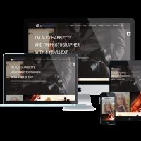 Ltheme Joomla Template: LT Photography – Image Gallery / Photography Joomla template