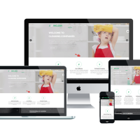 Ltheme Joomla Template: LT Inclean Onepage – Single Cleaning Company / Maid Service & Laundry Onepage Joomla template