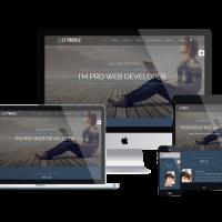 Ltheme Joomla Template: LT Profile – CV / Profile Joomla template
