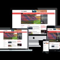 Ltheme Joomla Template: LT News – Magazine / News Joomla template
