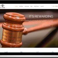 Ltheme Joomla Template: LT Law– Free One Page Responsive Law Joomla template