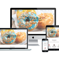 Ltheme Joomla Template: LT Donut Onepage – Free Single Page Bread Store / Dunut Joomla template