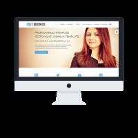Ltheme Wordpress Theme: LT Business Onepage – Free Single Page Responsive Corporation / Business WordPress theme