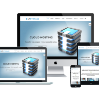 Ltheme Joomla Template: LT Storage Onepage – Free Sing Page Server / Hosting Joomla template