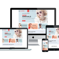 Joomla Free Template - LT Optik – Premium Private Eye Glasses / Eyewear VirtueMart Joomla! template