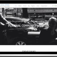 Ltheme Joomla Template: LT Social Company – Free Social Company Onepage Joomla template