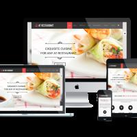 Ltheme Joomla Template: LT Restaurant – Food Order, Restaurant Joomla template
