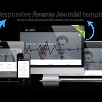 Ltheme Joomla Template: LT Avante – Corporation / Business Joomla template