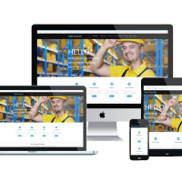 Ltheme Wordpress Theme: LT Industrial Onepage – Free Single Page Responsive Engineering / Industrial WordPress theme