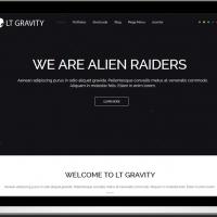 Ltheme Joomla Template: LT Gravity – Free One Page Responsive Business / Corporation Joomla template