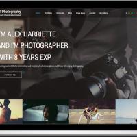 Ltheme Joomla Template: LT Photography – Free One Page Responsive Photography Joomla template