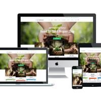 Joomla Free Template - LT Envico – Premium Private Environment / Nature Joomla template