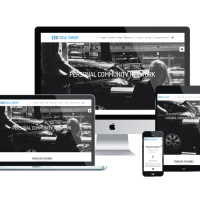 Ltheme Wordpress Theme: LT Social Company Onepage – Free Single Page Responsive Personal Community for Social Company WordPress theme