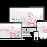 Ltheme Joomla Template: LT Baby Shop – Baby Store / Baby Shop Joomla template