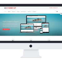 Ltheme Joomla Template: LT Start Up Onepage – Single New Business Launch Onepage Joomla template