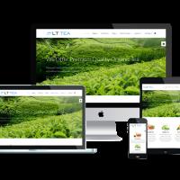 Ltheme Wordpress Theme: LT Tea Onepage – Free Single Page Responsive Tea Store / Tea Business WordPress theme