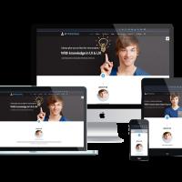 Ltheme Joomla Template: LT Personal – Profile / Personal Joomla template