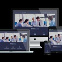 Ltheme Wordpress Theme: LT Blue Services – Free Responsive Business / Service WordPress Theme