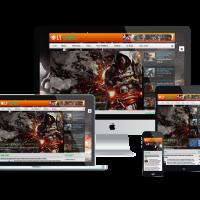 Ltheme Joomla Template: LT Games – Magazine / News Games Joomla template