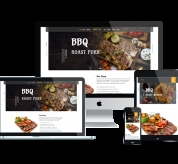 Joomla Free Template - LT BBQ - Premium Private Barbecue Website Template